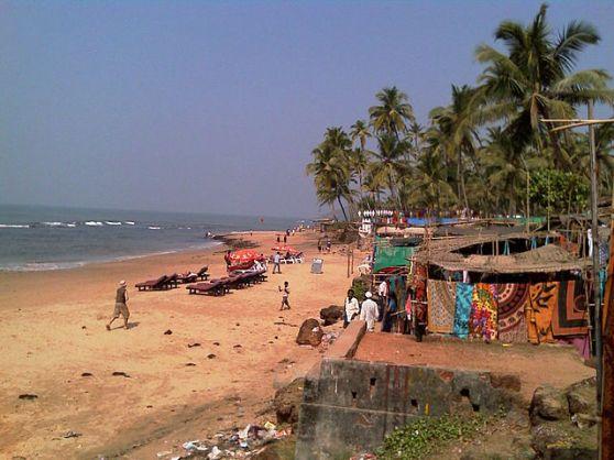 Anjuna Beach Goa